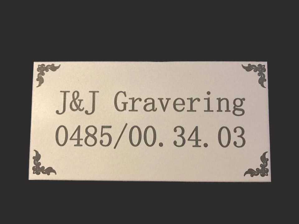 J&J Gravering
